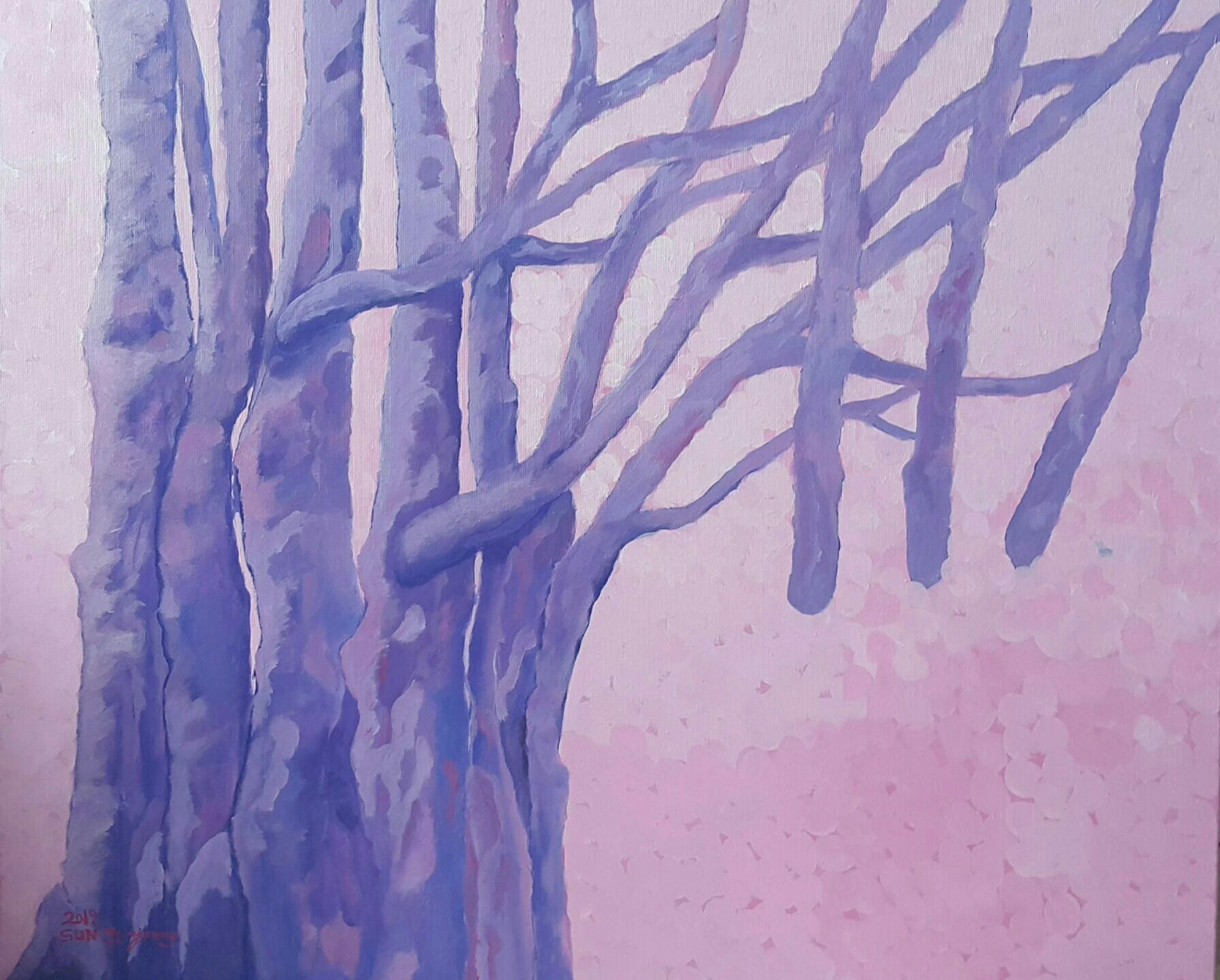 사본 -봄날과 아리아  61×73㎝  Acrylic on canvas  2019.jpg