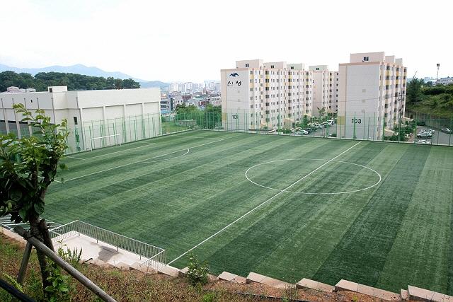 사천보조축구장